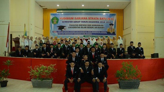 Fakultas Dakwah dan Komunikasi UIN Ar-Raniry Yudisium 155 Lulusan