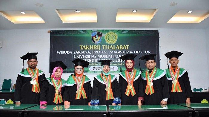 Dekan dan Enam Dosen Fakultas Teknik Unmuha Banda Aceh Diwisuda Profesi Insinyur Secara Daring