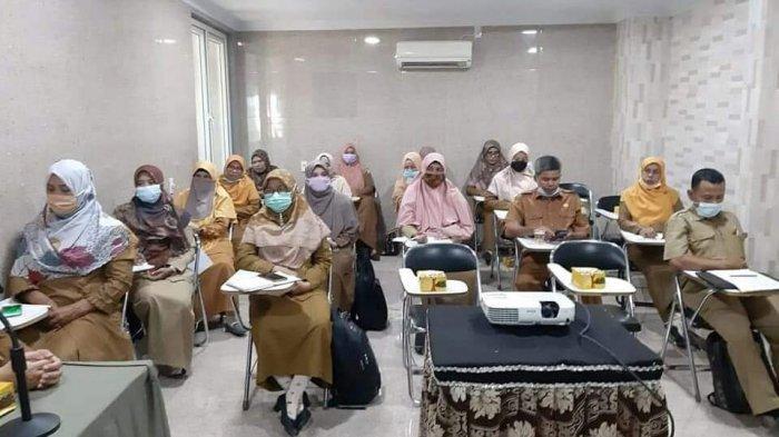 Puluhan Kepsek dan Guru di Aceh Besar Ikuti Workshop Peningkatan Supervisi Akademik