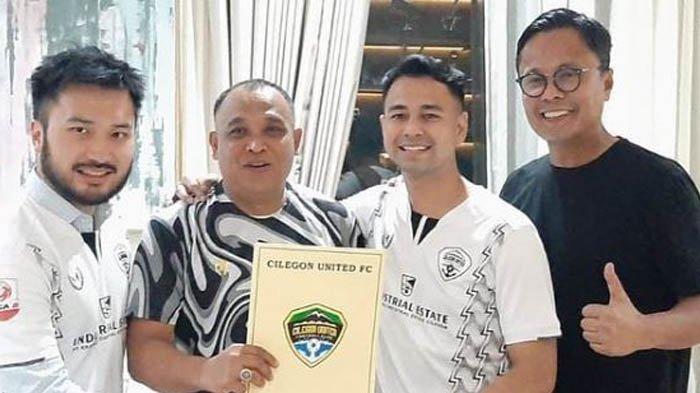 Raffi Ahmad Dituding Serobot Cilegon FC, Awalnya Cuma Diminta Jadi Donatur, Wali Kota Tentukan Sikap