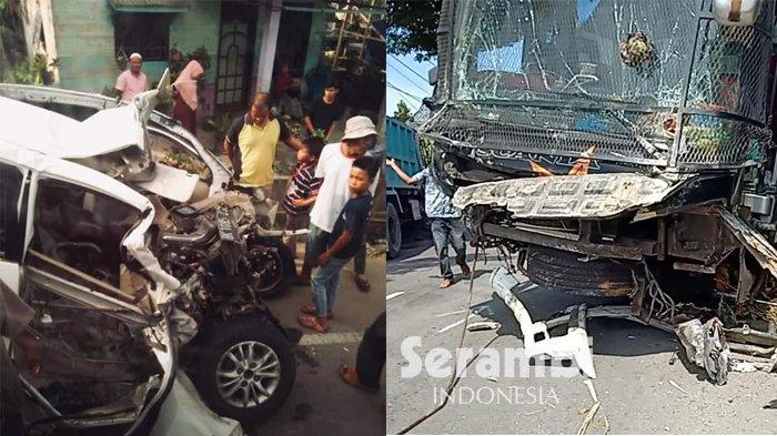 Tabrakan di Aceh Timur Libatkan Xenia, Bus Sempati Star dan Atlas, Avanza Lolos dari Maut