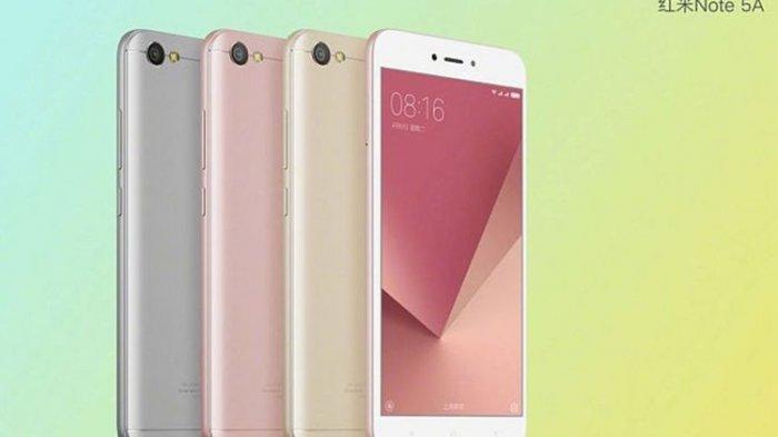 Seminggu Lagi Beredar, Ini Spesifikasi Xiaomi Redmi Note 5A