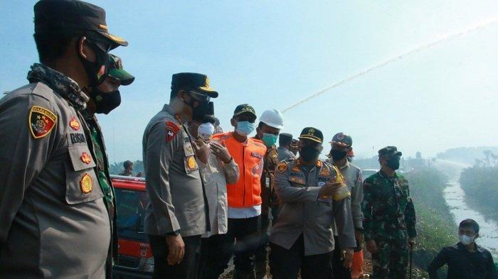 Kapolda: Penindakan Terhadap Pembakar Lahan tak Ada Kompromi