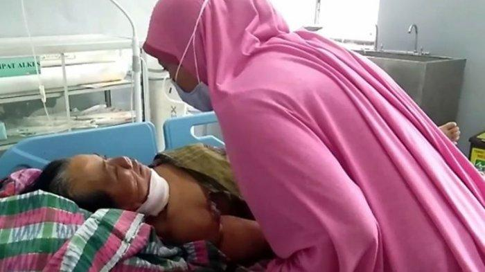 Istri Aniaya Suami dengan Sabit, Pelaku Ikut Terluka, Anak Temukan Kedua Orang Tuanya Berlumur Darah