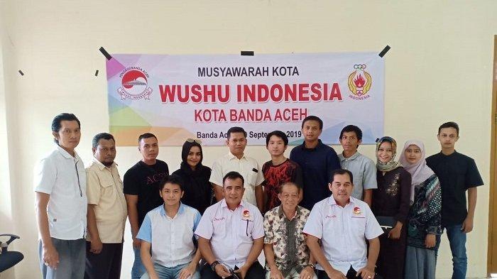 Yuswar Pimpin Pengkot Wushu Kota Banda Aceh