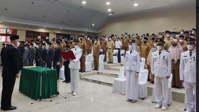 432 Pejabat Eselon Pemkab Aceh Tengah Dikukuhkan