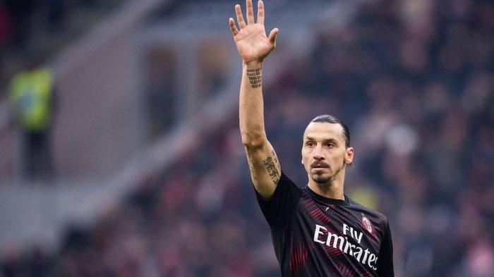Zlatan Ibrahimovic Cedera saat Latihan Bareng AC Milan, Pilih Pulang ke Swedia