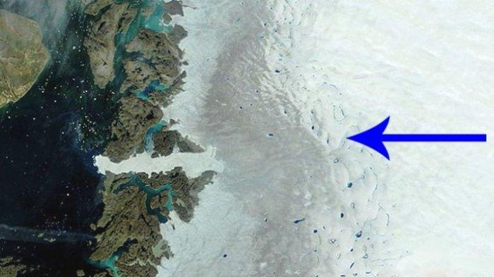 Terungkap Misteri Area Gelap Greenland Makin Luas, Peneliti Sebut Mengkhawatirkan Bagi Dunia