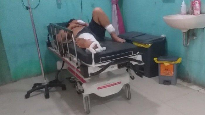 Pelaku Pembacokan di Uteun GathomBireuen Masuk Rumah Sakit Setelah Diamuk Warga