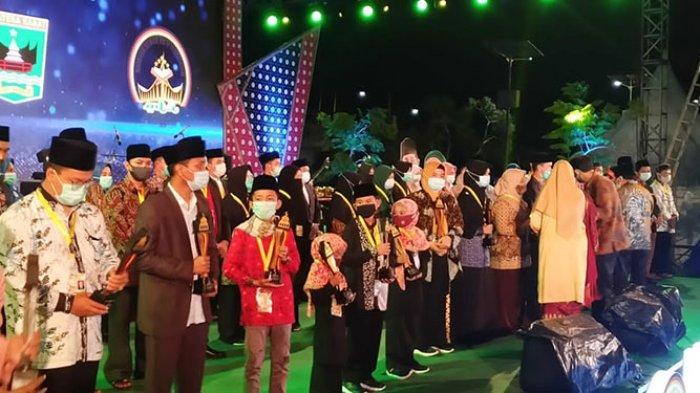 MTQ Nasional Sumbar Berakhir, Ini Duta Aceh Peraih Juara
