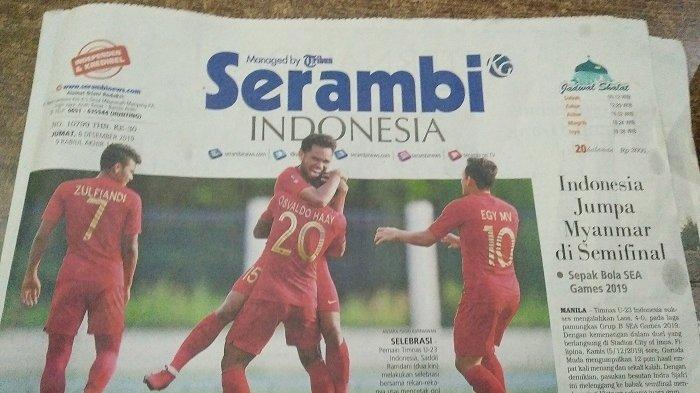 Timnas U-22 Indonesia ke Final SEA Games 2019, Kalahkan Myanmar Melalui Babak Extra Time