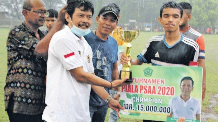 Ulee Kareng Boyong Piala PSAA Abulyatama