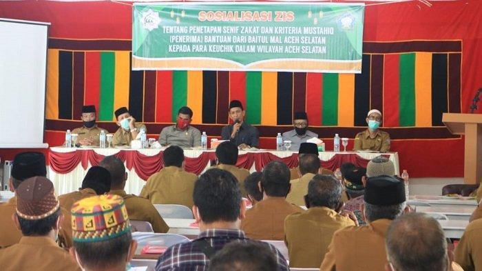 Baitul Mal Aceh Selatan Gelar Sosialisasi ZIS