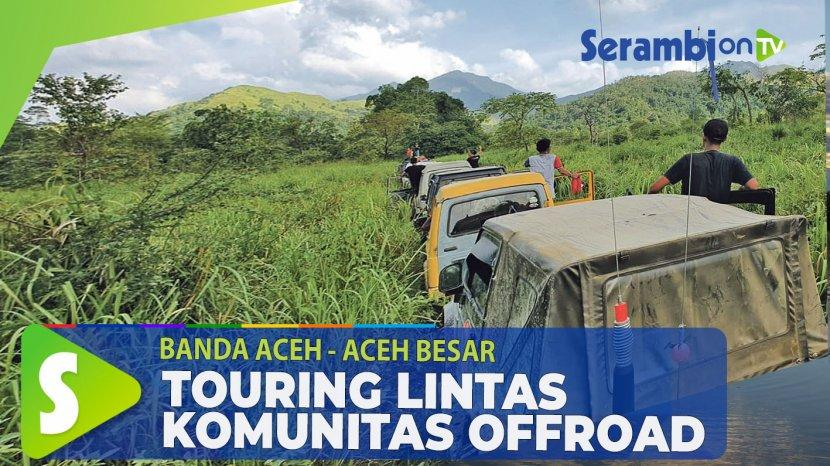 Video Jajal Gunung Seulawah Agam Dan Inong Belasan Offroader Gelar Ekspedisi Dua Hari Serambi Indonesia