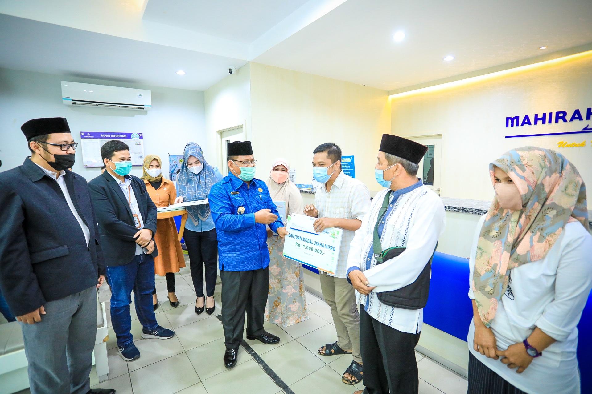 Disaksikan Walikota, BRINS dan LKMS Mahirah Muamalah Banda Aceh Teken Kerjasama, 100 Nasabah Langsung dijagain!