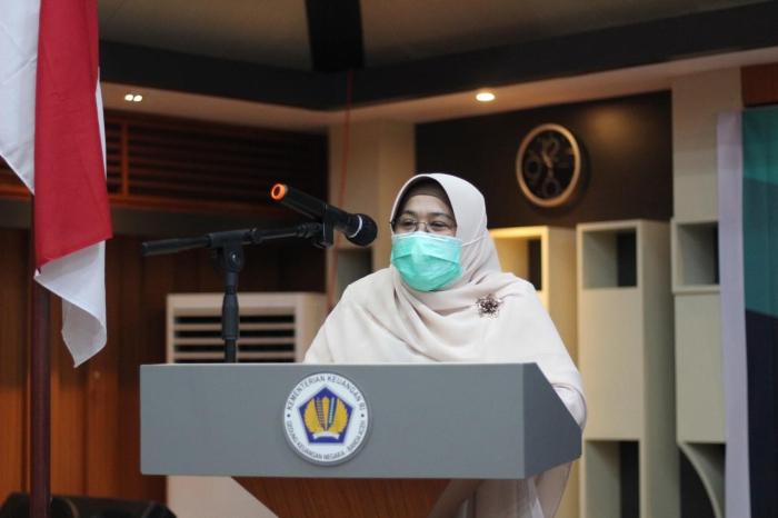 Kepala Kantor Wilayah DJKN Provinsi Aceh, Syukriah HG.