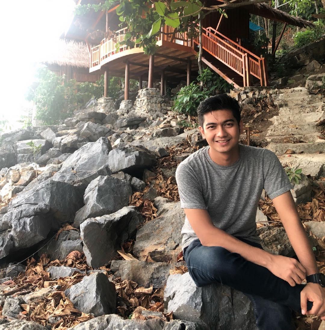 Teuku Rushiandi alias Teuku Ryan, pria Aceh yang dikabarkan menjalin hubungan spesial dengan YouTuber Ria Ricis.