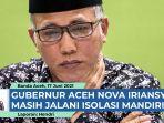 Gubernur Aceh Masih Positif Covid-19, Tim Medis Anjurkan Isolasi Mandiri thumbnail