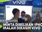 VIDEO Dua Sejoli Bertengkar Akibat Minta Dibelikan iPhone, Malah Dikasih Vivo thumbnail