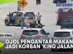 VIDEO Ojol Pengantar Makanan Kecelakaan, Jadi Korban 'King Jalanan' yang Belok Tiba-Tiba thumbnail