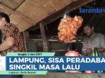 VIDEO Lampung, Pelabuhan Terapung di Sungai Sisa Peradaban Singkil Masa Lalu thumbnail