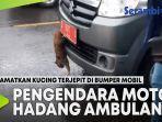 pengendara-motor-hadang-ambulans-saat-hujan.jpg