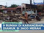 VIDEO Sembilan Bangunan di Karangbaru Aceh Tamiang Terbakar Diamuk Si Jago Merah thumbnail