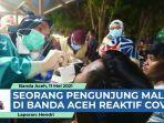 VIDEO Seorang Pengunjung Mal di Kota Banda Aceh Reaktif Covid-19 thumbnail