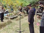 Wakapolres Pimpin Upacara Pemakaman Almarhum Briptu Bayu Andreansyah thumbnail