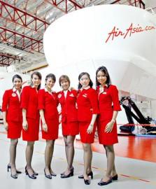 Air Asia Buka Rekruitmen Pramugari