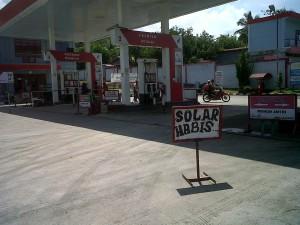 Krisis Minyak Solar Landa SPBU Lawe Desky, Aceh Tenggara