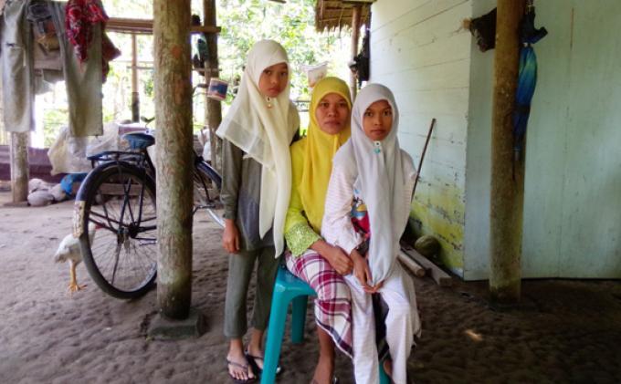 Bocor Jantung, Gadis Yatim Ini Bergetar Saat Lelah - 01022014_Maulita1.jpg