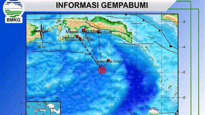 Gempa 3,9 Skala Richter Guncang Banda, Tak Berpotensi Tsunami