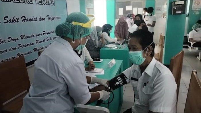 Baru Mencapai 30 Persen, Kepala Puskesmas Maluku Tengah Diminta Percepat Vaksinasi