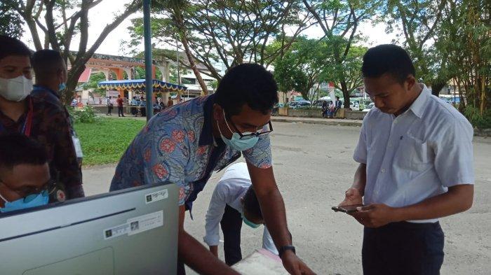Tidak Bawa Dokumen dan Datang Terlambat, 4 Peserta Tes SKD CPNS Kemenkumham Maluku Dinyatakan Gugur