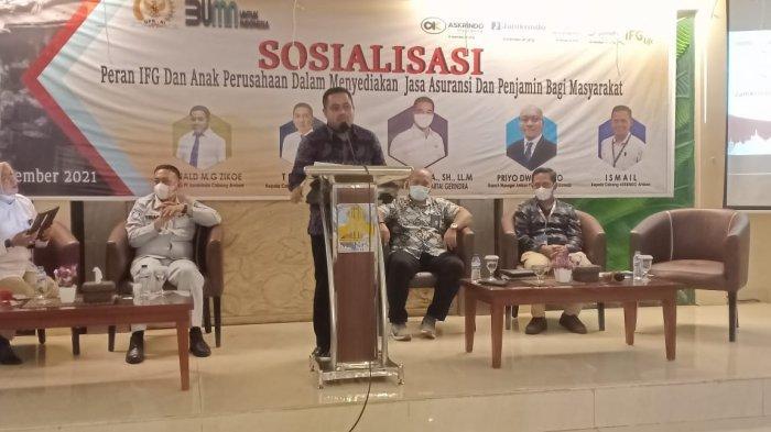 Tangani Masalah Agunan, Jamkrindo Hadir Sebagai Solusi Bagi Pelaku Usaha di Ambon