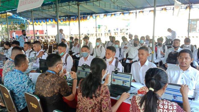 24 Peserta Dinyatakan Gugur Sebelum Mengikuti Tes SKD CPNS 2021 Kanwil Kemenkumham Maluku