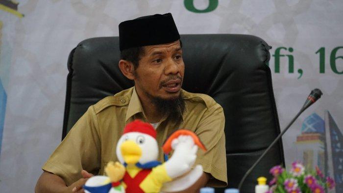 MALUKU UTARA: Ketua Panitia Penyelenggara Daerah STQ Nasional XXVI, Salmin Djanidi.
