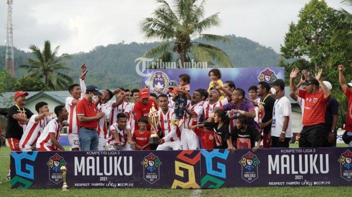 Maluku FC Jadi Kampiun Liga 3 Maluku 2021 Usai Kalahkan Gemba FC
