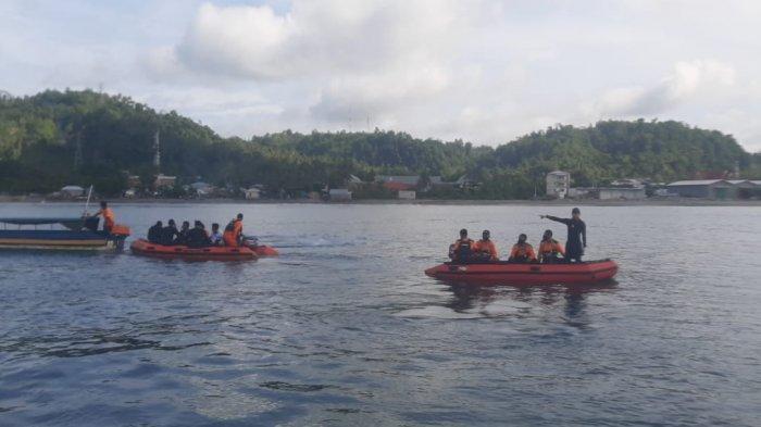 Purnawirawan TNI AL Tenggelam di Pantai Hatiwe, Kota Ambon