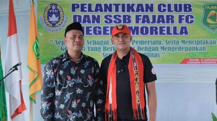 Resmikan Klub dan SSB Fajar, Ini Kata Asprov PSSI Maluku