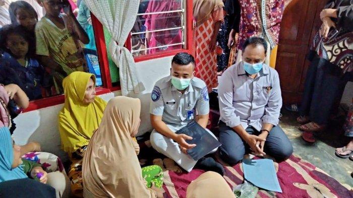 Ahli Waris Korban Laka Lantas JMP Ambon Terima Santunan Rp 50 Juta dari Jasa Raharja