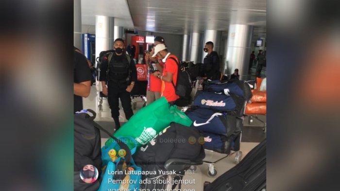 Tiba di Bandara Pattimura, Atlet Dayung PON XX Papua Tak Dijemput Pemda Maluku