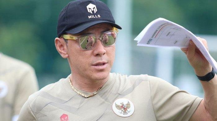 Shin Tae-yong Umbar Kebiasaan Buruk Pemain Indonesia yang Lambat di Sesi Latihan