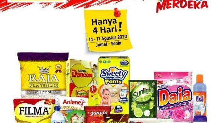 Promo JSM Merdeka Alfamart 14-17 Agustus 2020, Ekstra Diskon dengan Gopay dan Debit/Kredit