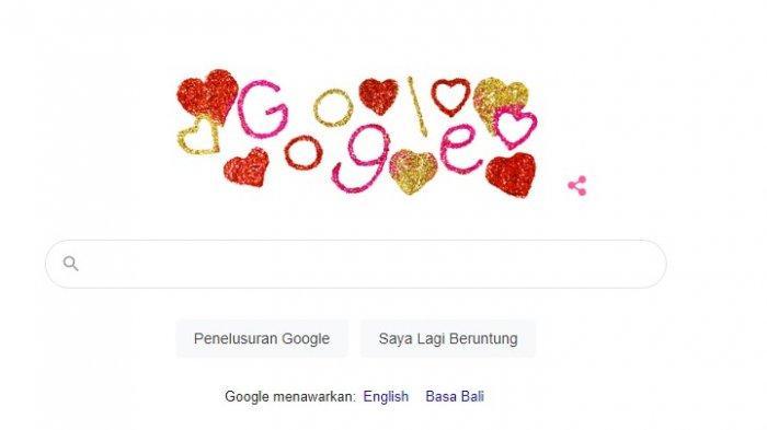 Tak Ketinggalan, Google Doodle Ikut Rayakan Valentine's Day 2021