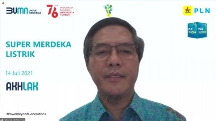 Direktur Niaga dan Manajemen Pelanggan PLN, Bob Saril, Rabu (14/7/2021).