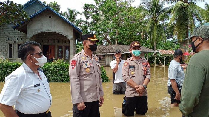 50 Rumah Terendam Banjir, Polres Pulau Buru Bakal Bangun Dapur Umum Bagi Warga Terdampak