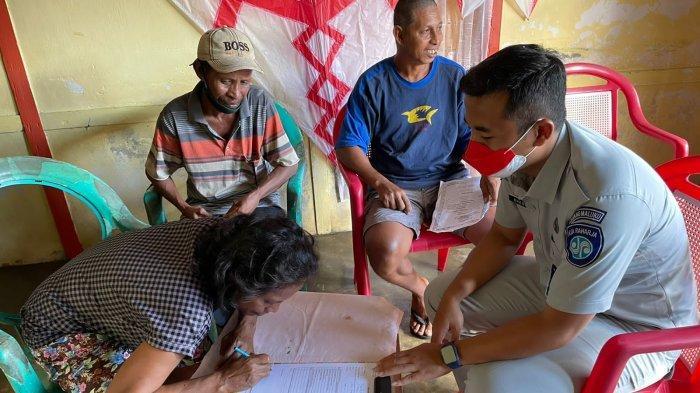 Jasa Raharja Berikan Santunan kepada Ahli Waris Korban Kecelakaan di Sorong - Papua