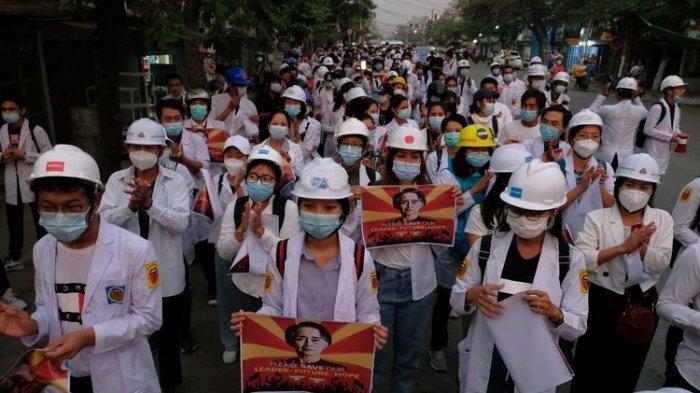 139 Petugas Medis di Myanmar Hadapi Ancaman Penjara Junta Militer
